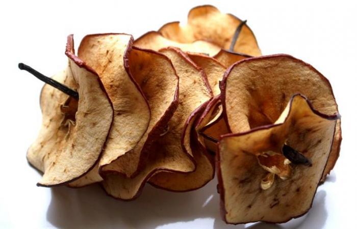 A diario una manzana… realmente es cosa sana. Incluso si la manzana es deshidratada.