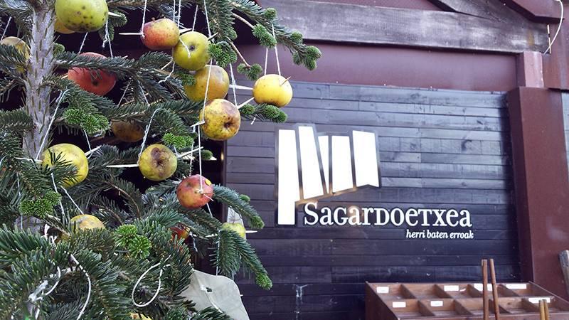Amplia oferta y muchos visitantes durante el puente de diciembre en Sagardoetxea.