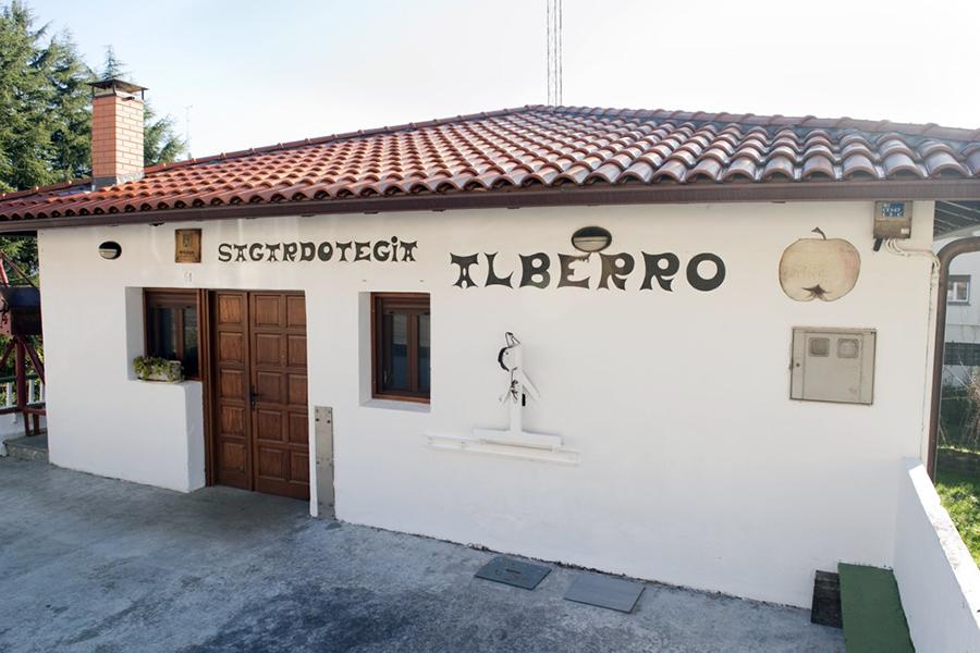Sidrería de Hernani ALBERRO de Sagardoaren Lurraldea