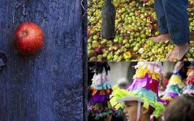 XVII Sagar Uzta, la fiesta de la manzana en Astigarraga
