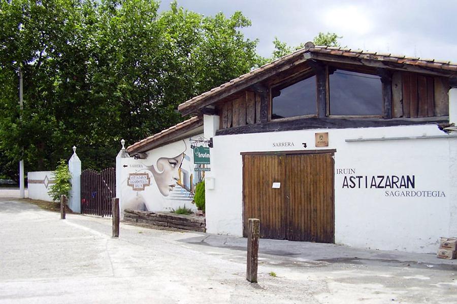 Sidrería de Usurbil ASTIAZARAN de Sagardoaren Lurraldea