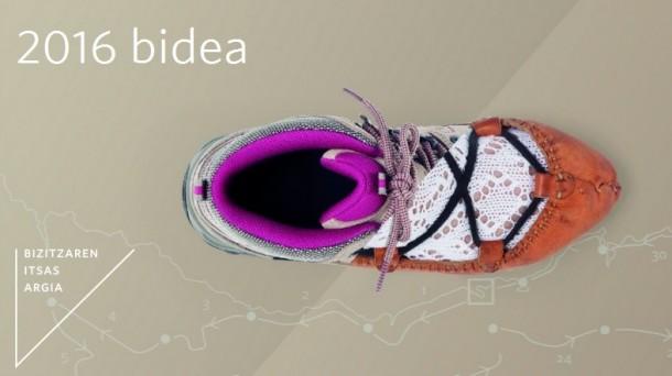 """""""2016 Bidea"""": """"Sagardoa eginez"""" en Sagardoetxea."""