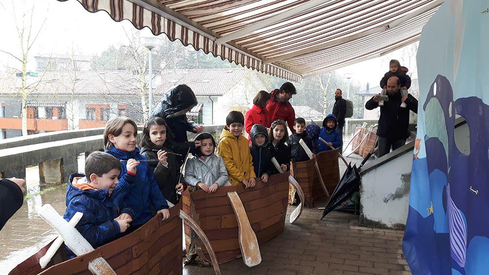 """Visita guiada """"¡Vamos a cazar ballenas!"""" en Sagardoetxea para celebrar el Mes de los Museos de la Costa Vasca"""
