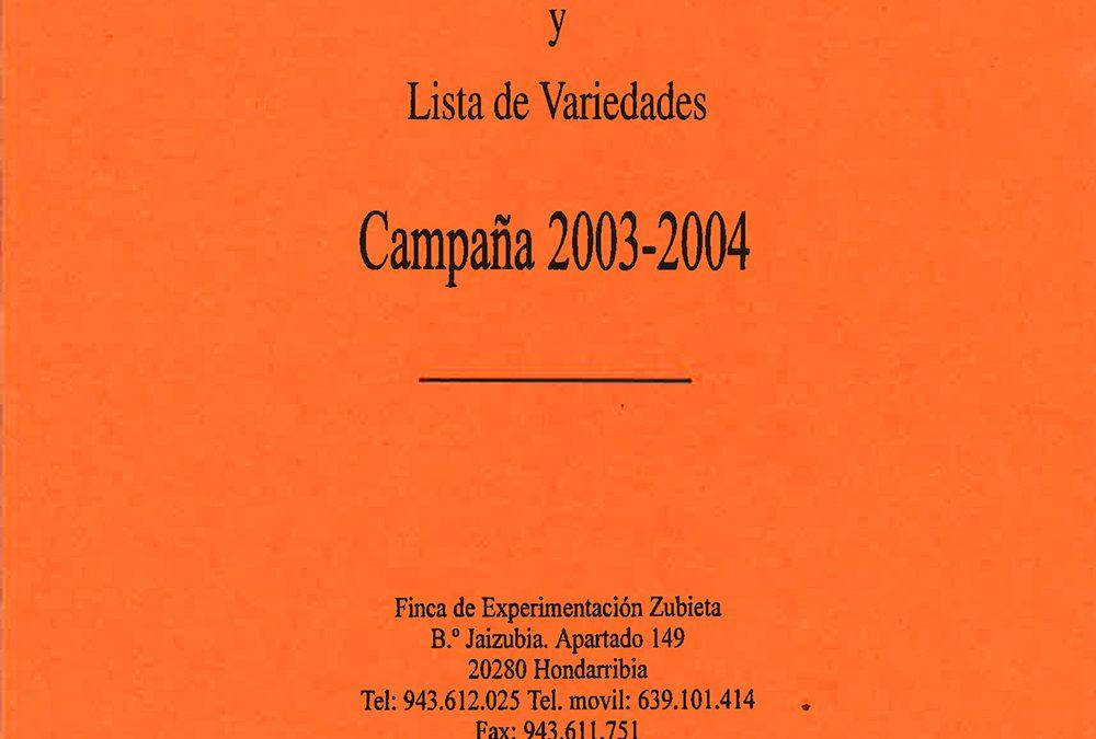 Las subvenciones a la plantación de manzanos en Gipuzkoa