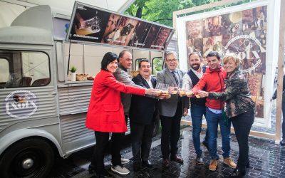 """Una """"Cider Truck"""" itinerante promocionará el rito del txotx en Francia, Madrid y Galicia"""