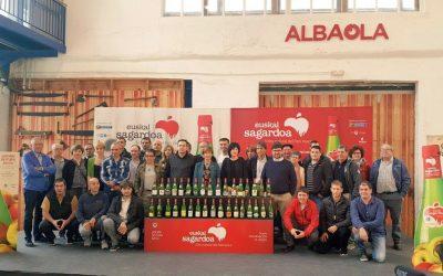 Comienza el lanzamiento al mercado de las primeras botellas con la nueva denominación de origen Euskal Sagardoa