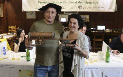 La sidrería Altzueta ha ganado el XVI Concurso de Sidra de la Diputación Foral de Gipuzkoa