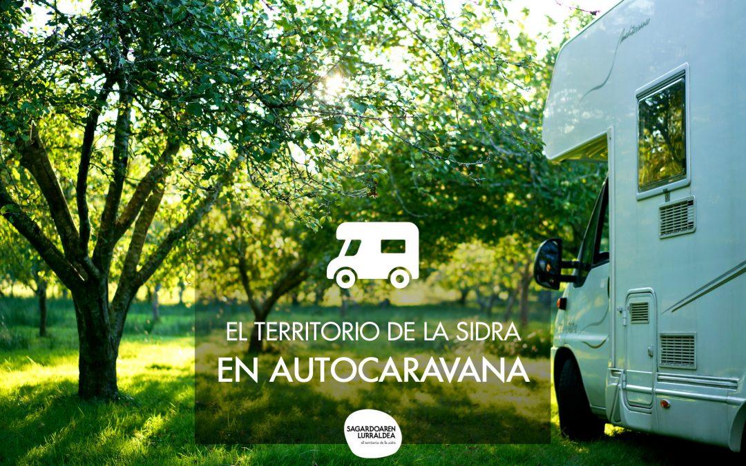 El Territorio de la Sidra vasca abre sus puertas a los viajeros en autocaravana y furgoneta