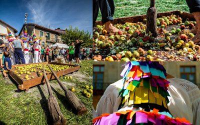 XVIII Sagar Uzta, la fiesta de la manzana en Astigarraga