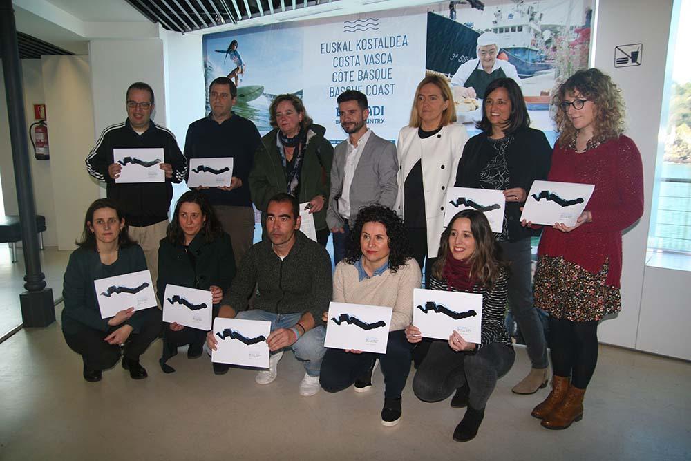 Celebración del mes de los Museos de la Costa Vasca en Sagardoetxea