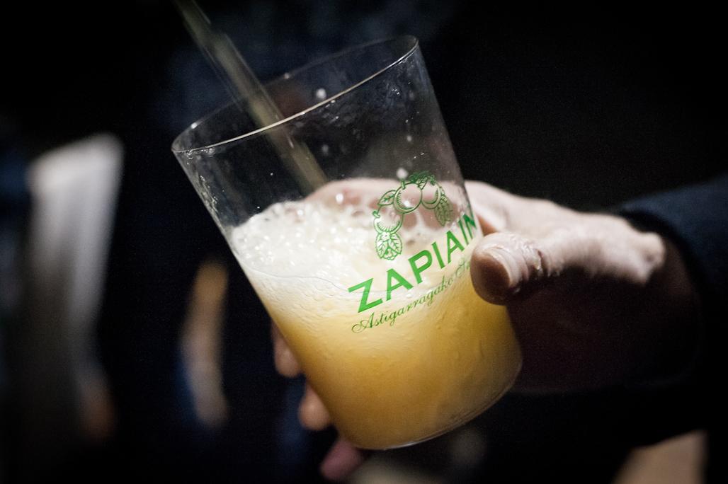 Zapiain Sagardoa, elaborando sidra generación tras generación