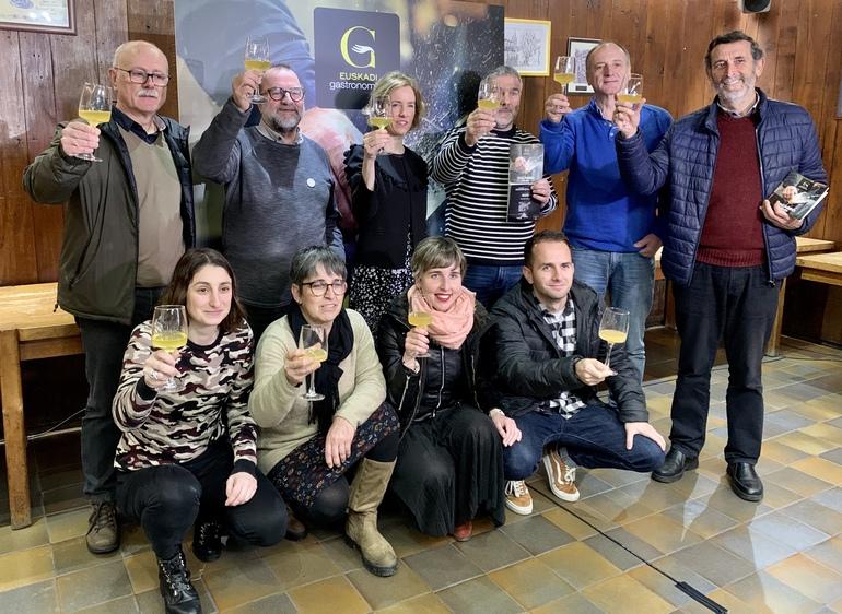Euskadi Gastronomikak Sagardomapa aurkeztu du