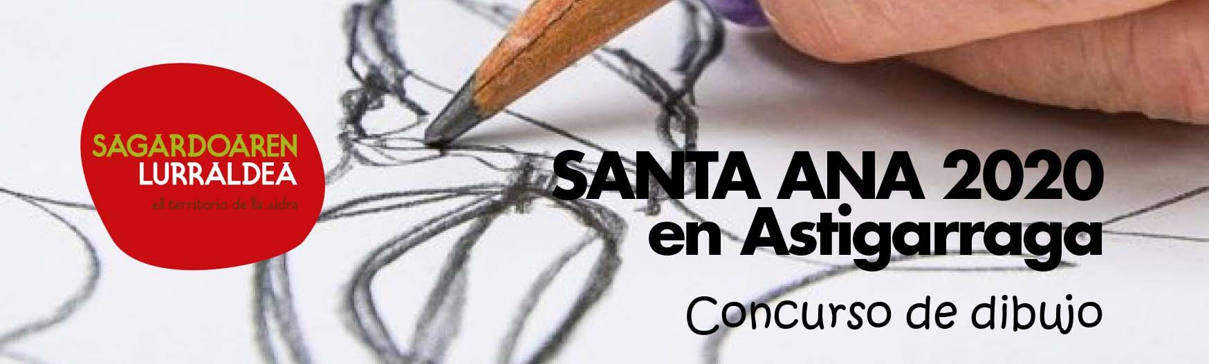 Concurso de dibujo de Santa Ana 2020 en Astigarraga