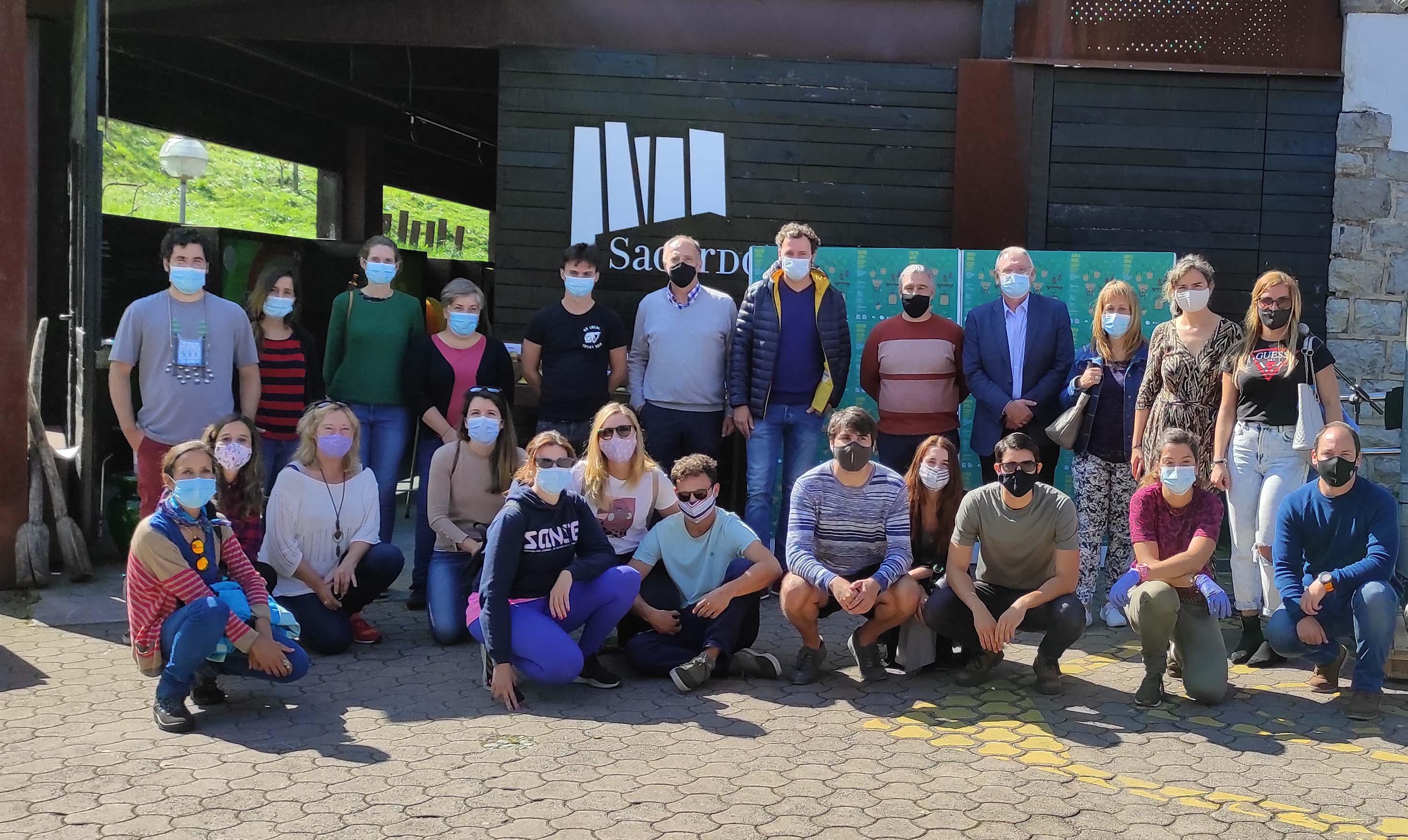 Udazken zaporez ekimena aurkeztu da Sagardoetxean turismo alorreko profesionalen artean