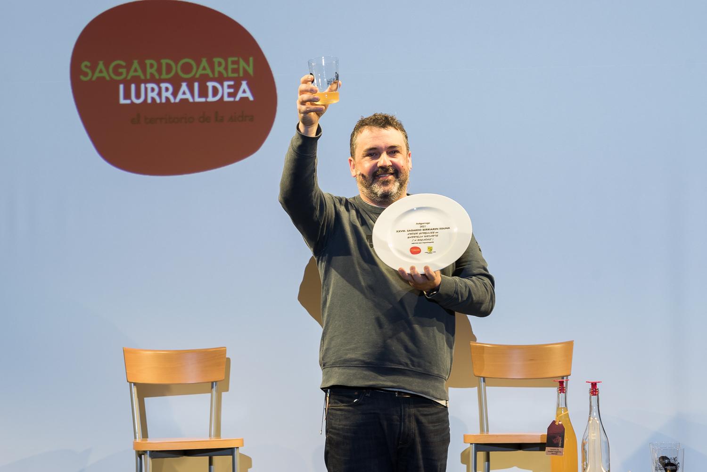 Ander González presenta la Sagardo Berria